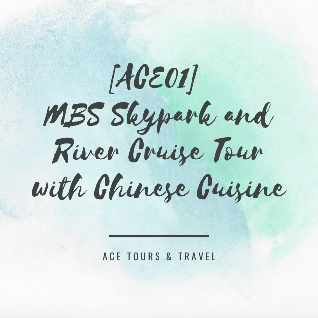 [ACE01] MBS Skypark and River Cruise Tour with Chinese Cuisine