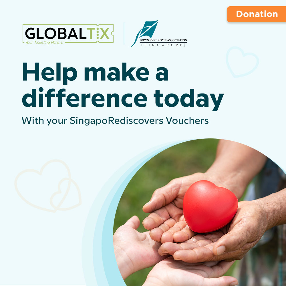 Donation to Down Syndrome Association Singapore