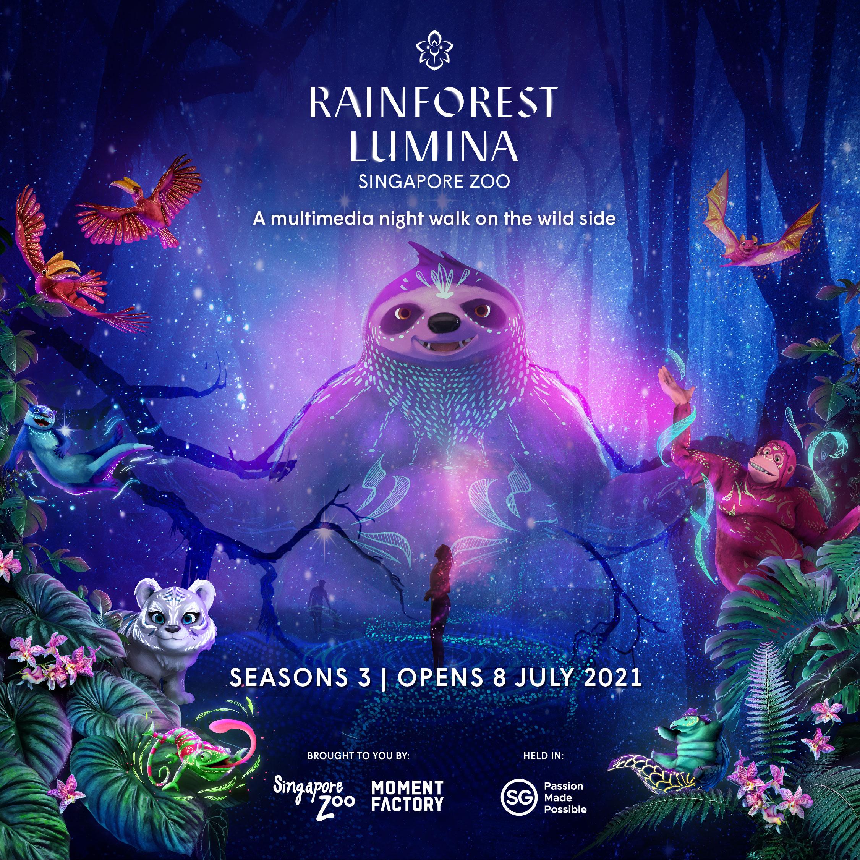 Rainforest Lumina (Open Dated Entry)